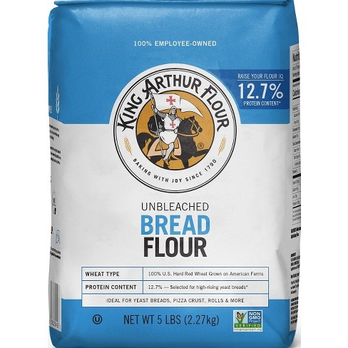 King Arthur Flour Unbleached Bread Flour - 5lbs - image 1 of 4