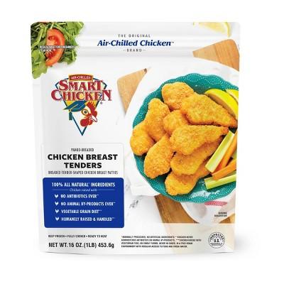 Smart Chicken No Antibiotics Ever Panko-Breaded Chicken Breast Tenders - Frozen - 1lb