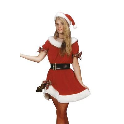 Adult Ms. Santa Costume One Size