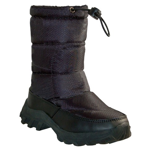 Toddler's Itasca™ Snow Scamp Boots - Black - image 1 of 3