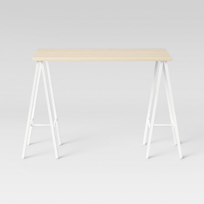 Trestle Desk White - Room Essentials™