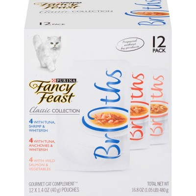 Cat Food: Fancy Feast Broths