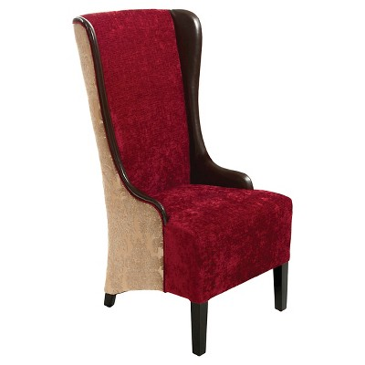 Charmant Bacall High Back Chair Ruby   Christopher Knight Home : Target