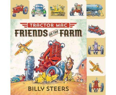 Friends on the Farm (Hardcover) (Billy Steers) - image 1 of 1