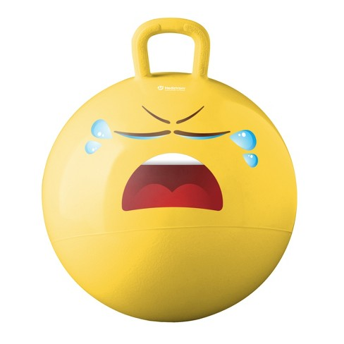 Hedstrom - Emoji Hopper Crying - Yellow - image 1 of 2