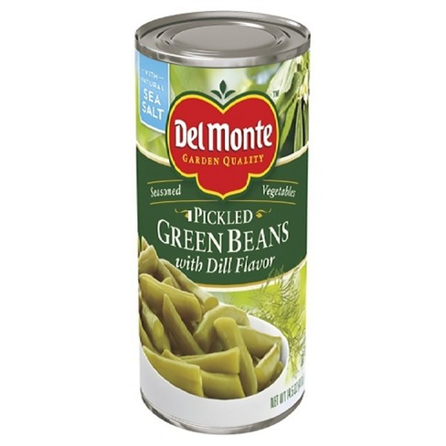 Del Monte Specialties Lightly Seasoned Dill Green Bean 14.5 oz - image 1 of 1