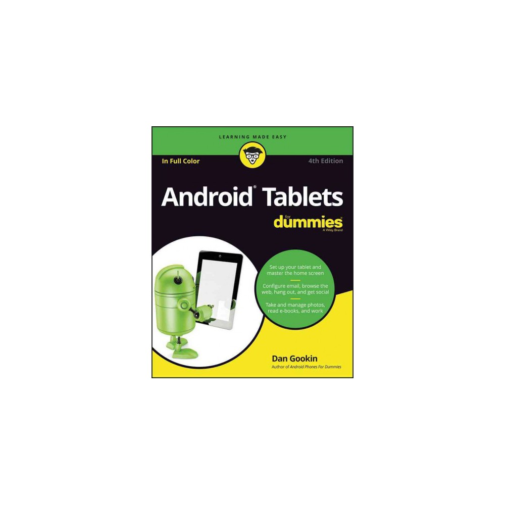 Android Tablets for Dummies (Paperback) (Dan Gookin)