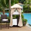 Palm Harbor Outdoor Wicker Towel Valet - Crosley - image 6 of 7