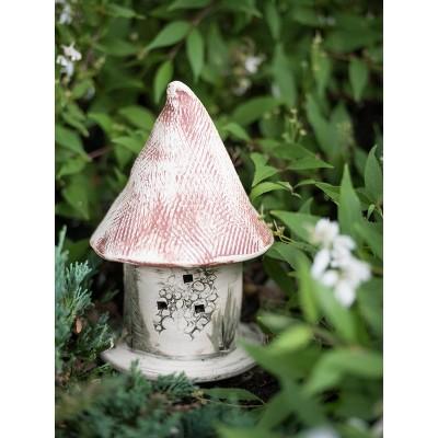 Stoneware Ladybug Castle - Amaranth Stoneware, LTD