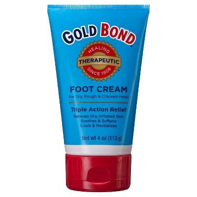 Gold Bond Triple-Action Foot Cream - 4oz.