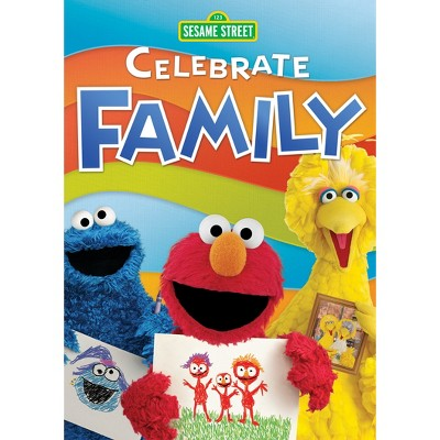 Sesame Street: Celebrate Family (DVD)