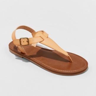 Women's Lady Toe Thong Sandal - Universal Thread™ Tan 9.5