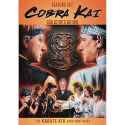 Cobra Kai Season 1 & Season 2 Collector's Set (DVD)