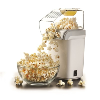 Brentwood Hot Air Popcorn Maker in White