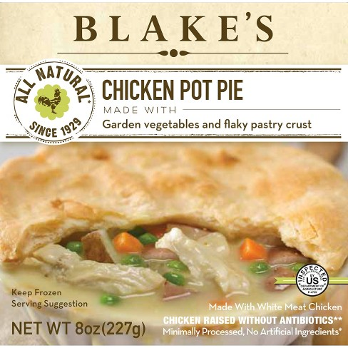Blake's All Natural Frozen Chicken Pot Pie - 8oz - image 1 of 1