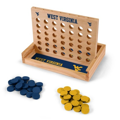 NCAA West Virginia Mountaineers Table Top Four In A Row - image 1 of 1