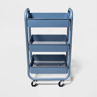 3 Tier Metal Cart Blue - Made By Design™