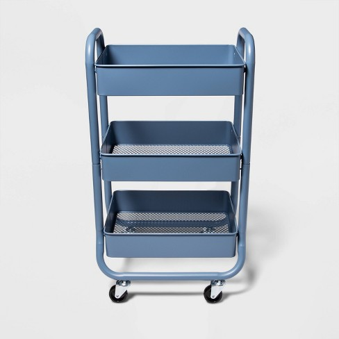 3-Tier Metal Utility Cart - Made By Design™ - image 1 of 3