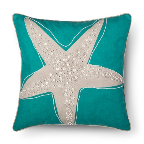 High Tide Starfish Throw Pillow - Threshold™ - image 1 of 1