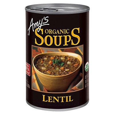 Soup: Amy's Organic Soup