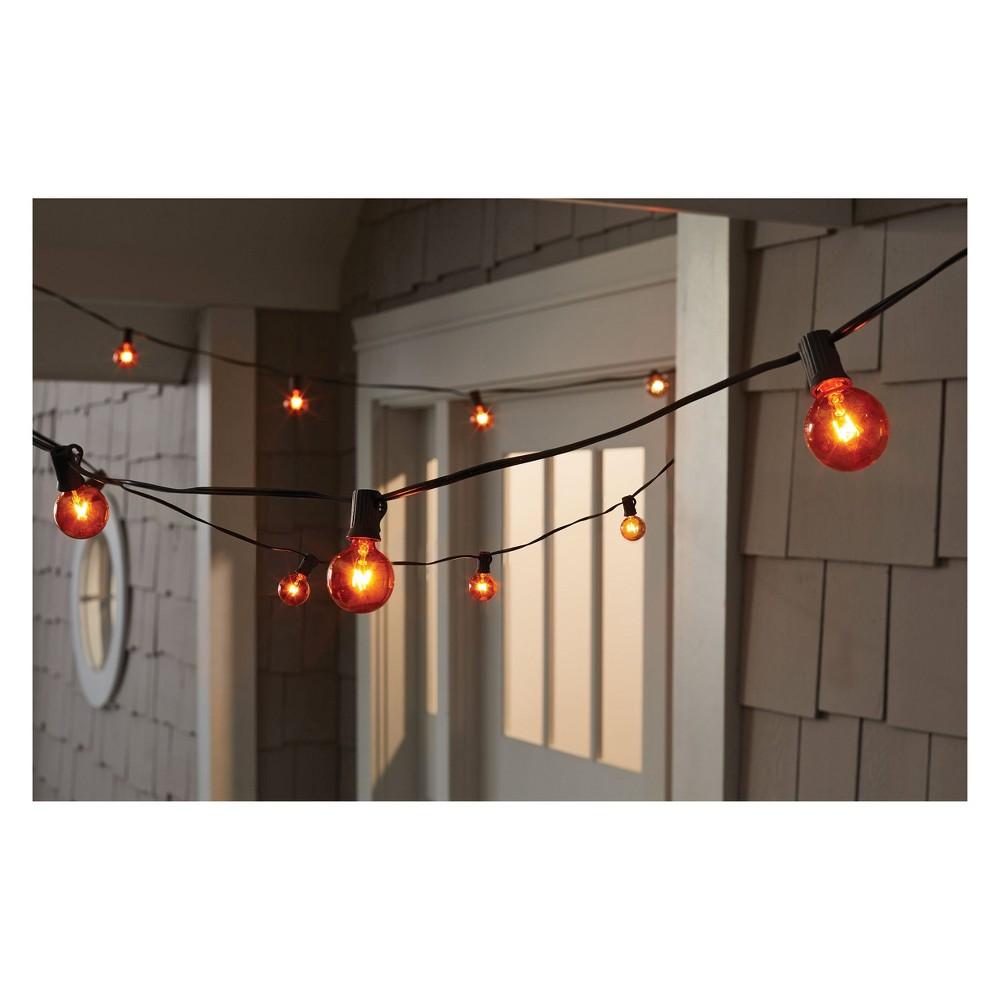 20ct Orange G40 String Light - Hyde and Eek! Boutique 16.83'