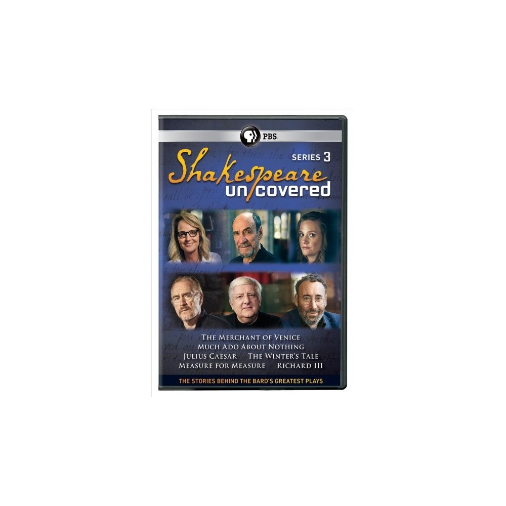 Shakespeare Uncovered:Series 3 (Dvd)