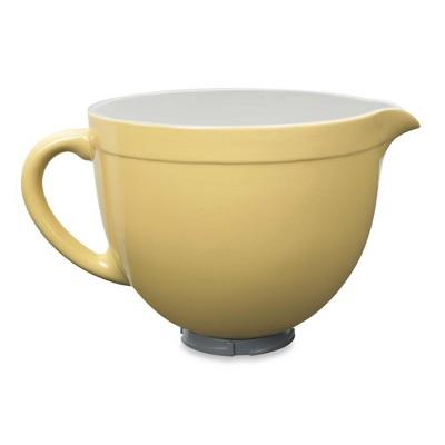KitchenAid 5 Quart Tilt-Head Ceramic Bowl - Majestic Yellow