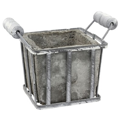 Cement Planter (Small)Gray - CKK Home Décor
