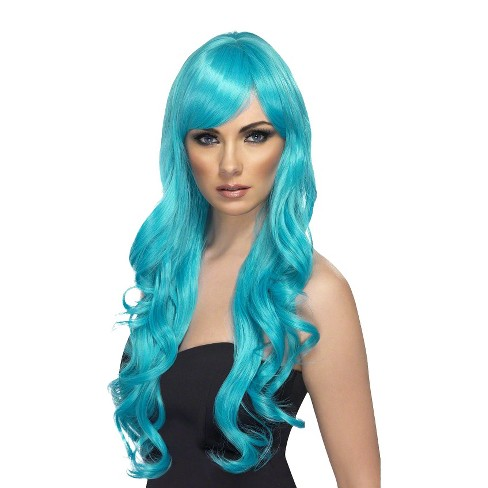 Women's Desire Aqua Wig Blue - image 1 of 1
