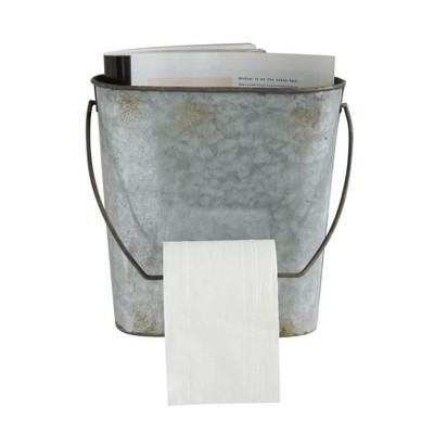 Tin Toilet Paper Holder Wall Rack - 3R Studios