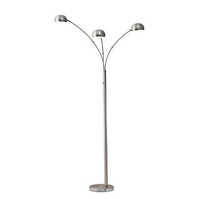 Domino Arc Lamp Silver - Adesso