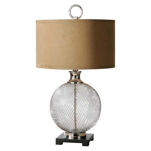 Uttermost Catalan Metal Accent Lamp (Lamp Only) - Nickel - image 1 of 2