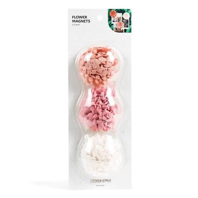 3pk Flower Locker Magnets   Locker Style By U Brands by Locker Style By U Brands
