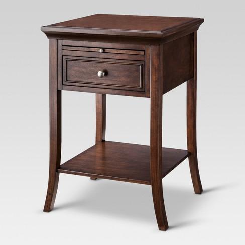 Barnaby Side Table Vintage Oak Threshold