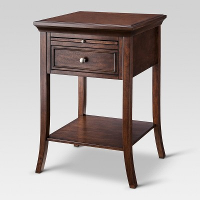 Merveilleux Barnaby Side Table Vintage Oak   Threshold™