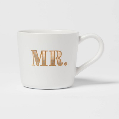 15oz Stoneware Mr. Mug - Threshold™