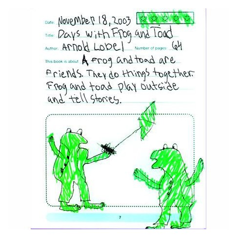 Primary Concepts My Reading Journal, Grades K - 3, pk of 20 - image 1 of 1