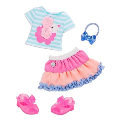 """Glitter Girls Poodle Cuddles Fashion Outfit for 14"""" Dolls"""