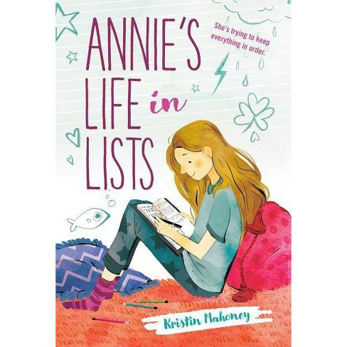 Annie's Life in Lists - by  Kristin Mahoney (Paperback) - image 1 of 1