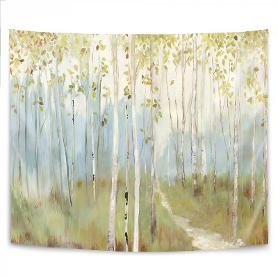 Americanflat Sunny Forest by PI Creative Art Wall Tapestry