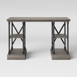 Conway Cast Iron Desk - Threshold™