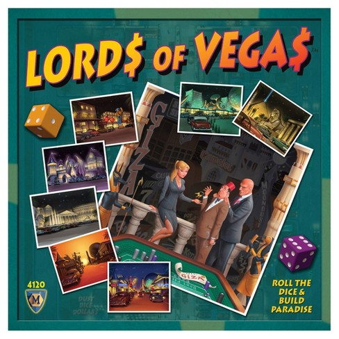Mayfair Games Lords of Vegas Board Game - image 1 of 1