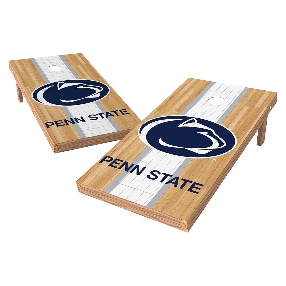NCAA Wild Sports2' x 4' Heritage Design Authentic Cornhole Set Penn State Nittany Lions