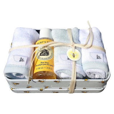 Burts Bees Baby™ Newborn Boys' Washtime Tin - Sky
