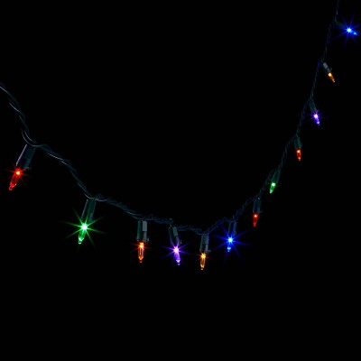 200ct LED Smooth Mini String Lights with Green Wire - Wondershop™