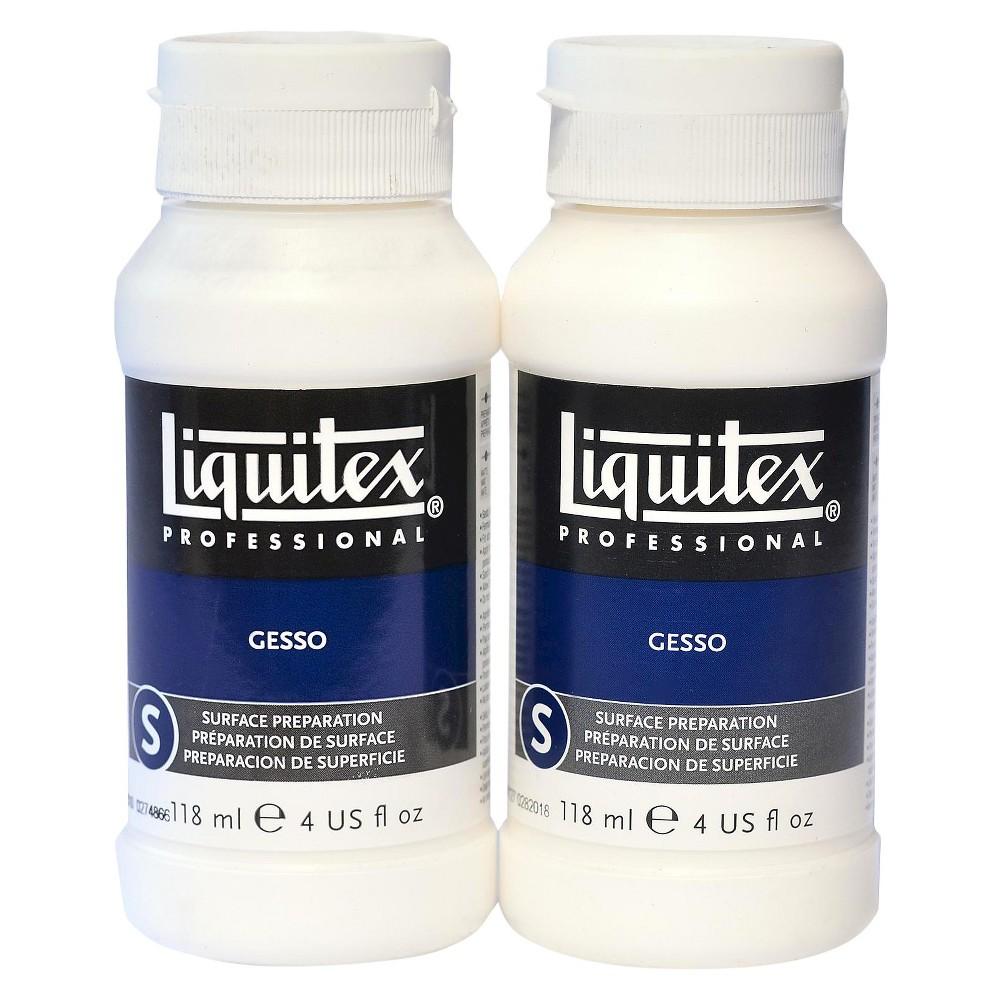 Image of Liquitex Acrylic Gesso, 4 oz - 2pk, White