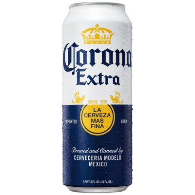 Corona Extra Lager Beer - 24 fl oz Can