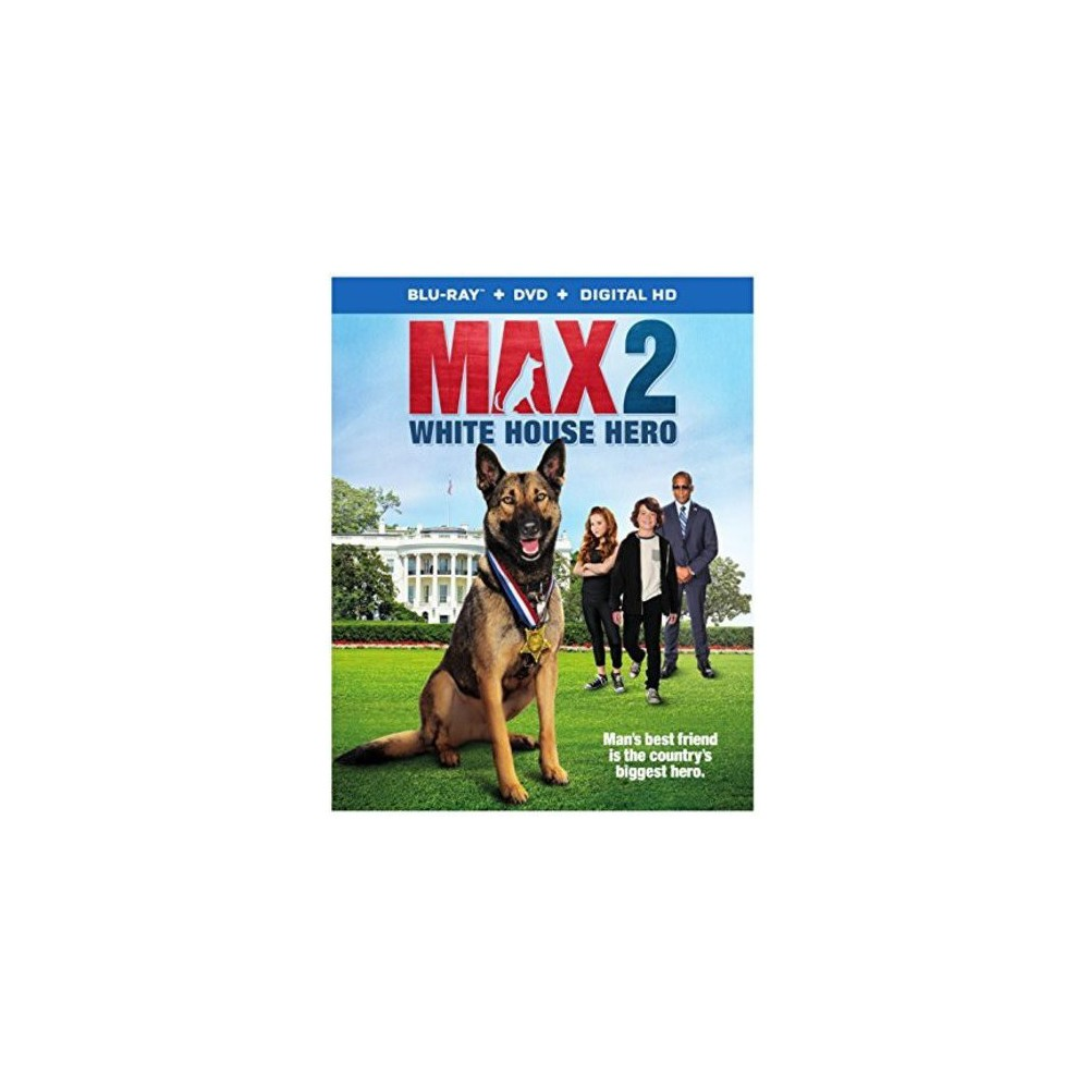 Max 2: White House Hero (Blu-ray + Dvd + Digital)
