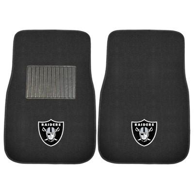 NFL Fan Mats 2pc Embroidered Car Mat Set
