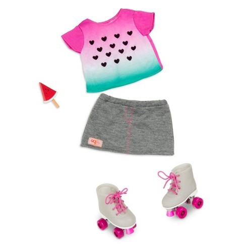 Our Generation Regular Outfit - Watermelon - image 1 of 3
